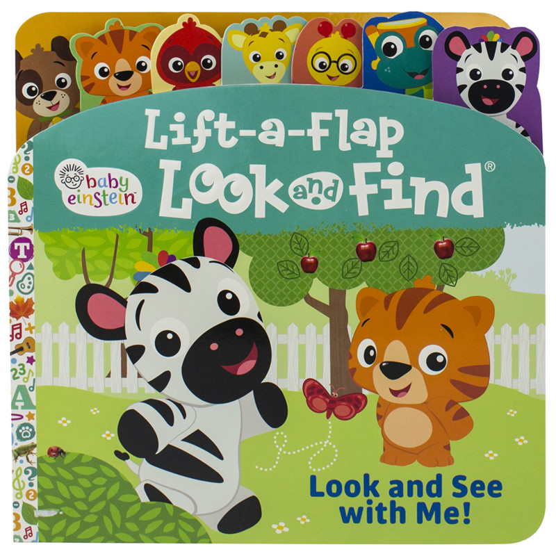 Lift-a-Flap Look and Find Book: Look and See with Me!