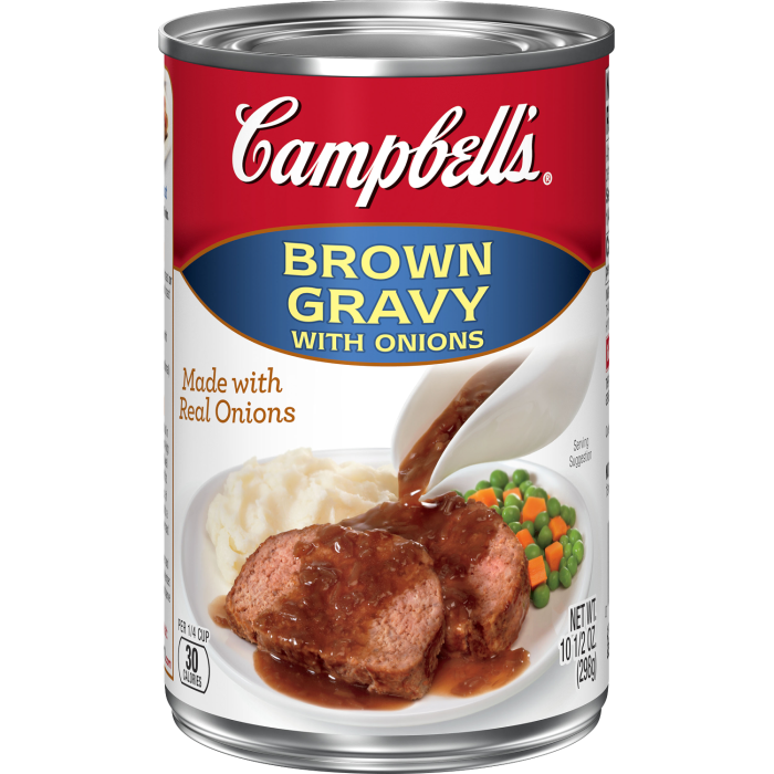 Brown Gravy with Onions