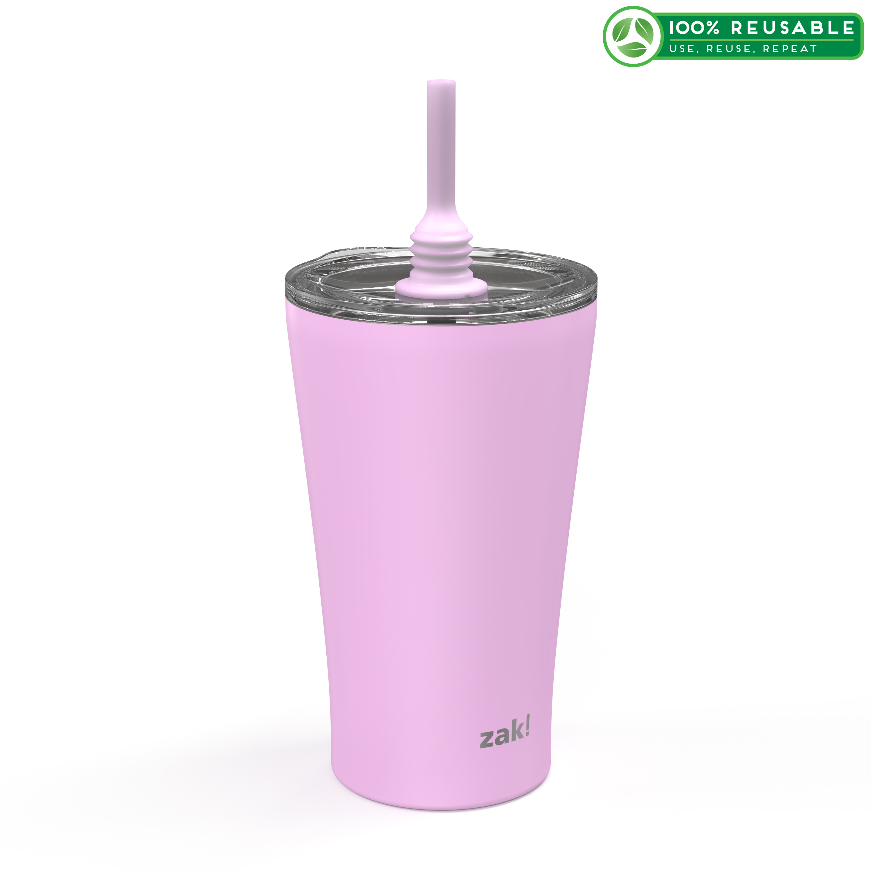 Alfalfa 20 ounce Vacuum Insulated Stainless Steel Tumbler, Lilac slideshow image 1