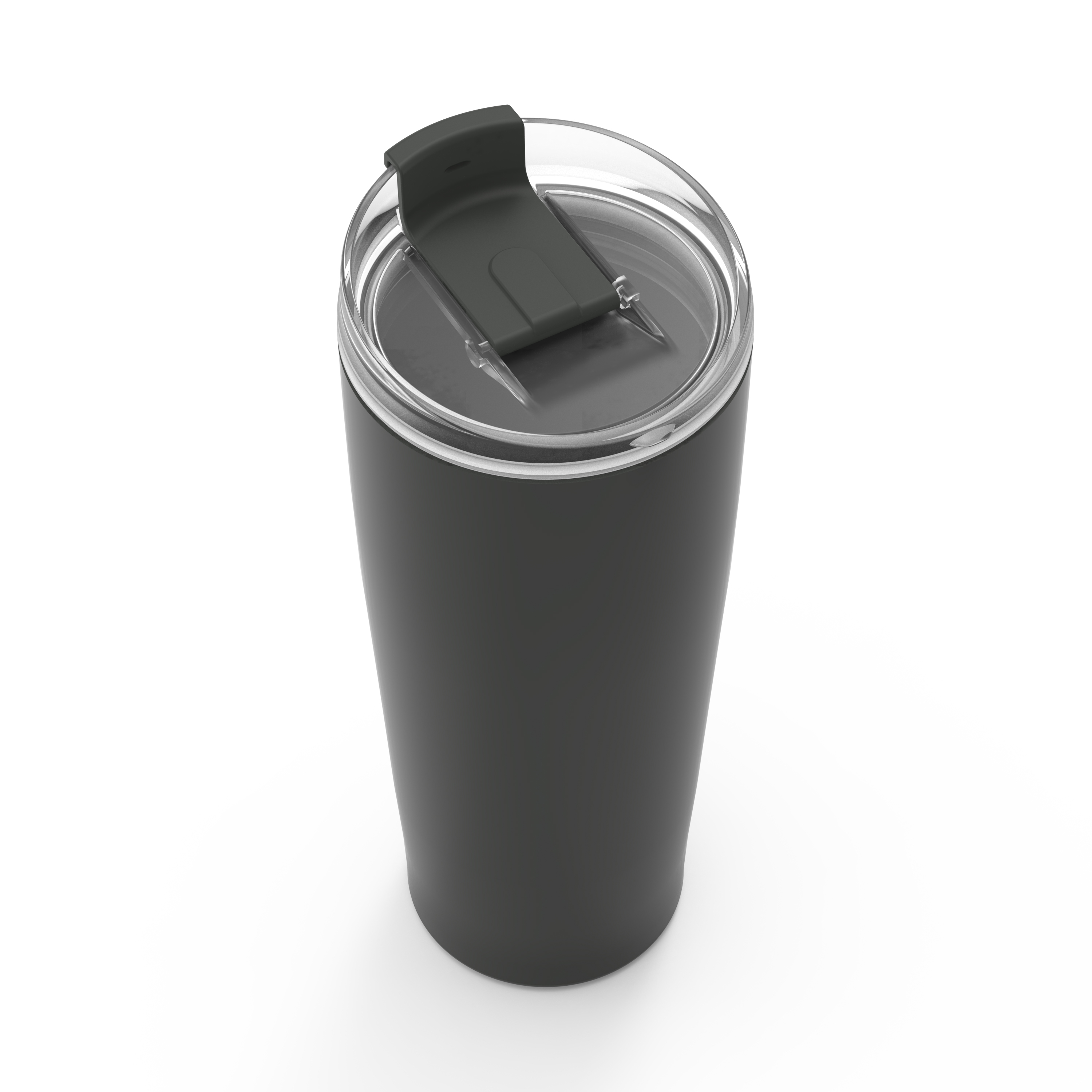 Aberdeen 30 ounce Insulated Tumbler, Charcoal slideshow image 2