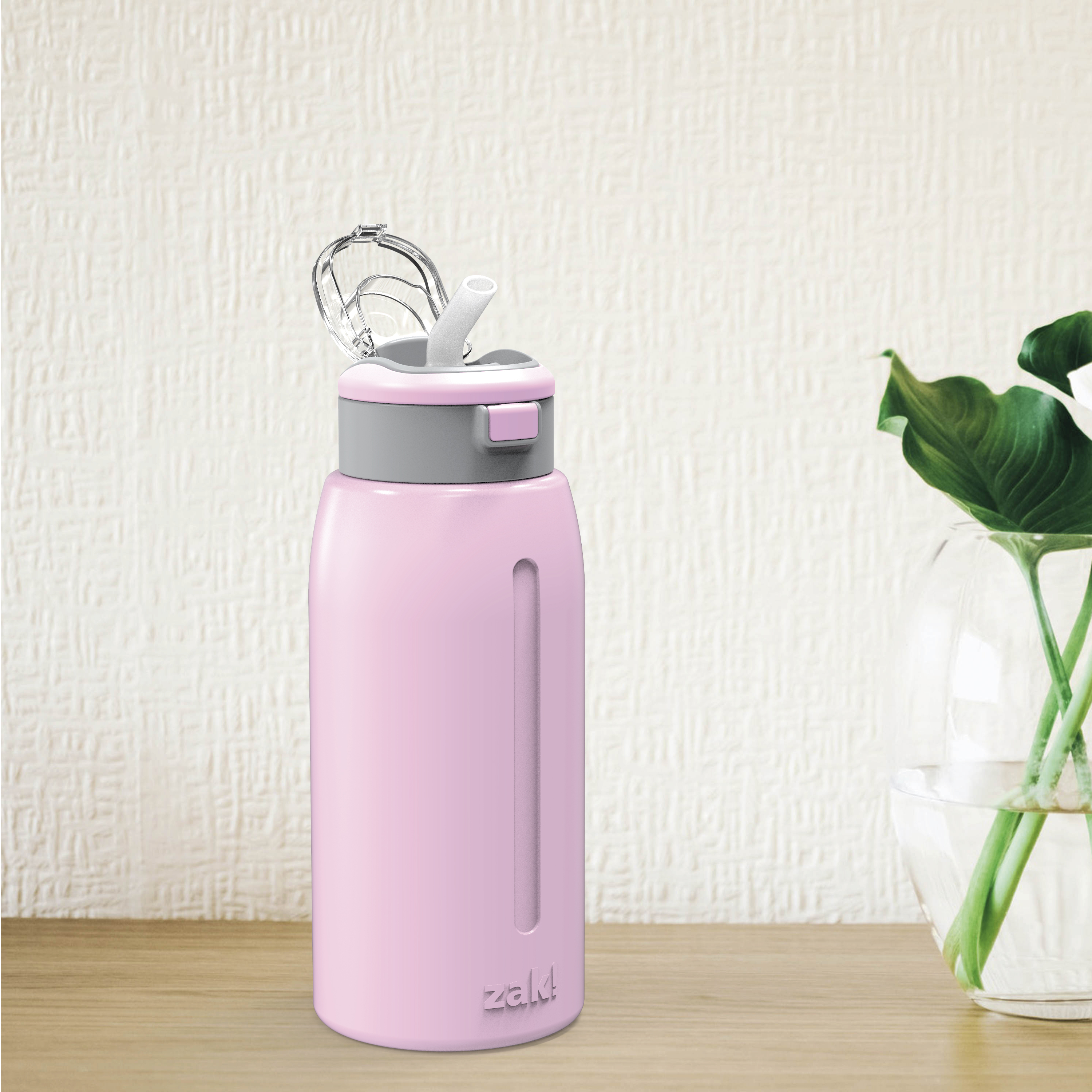 Genesis 32 ounce Stainless Steel Water Bottles, Lilac slideshow image 8