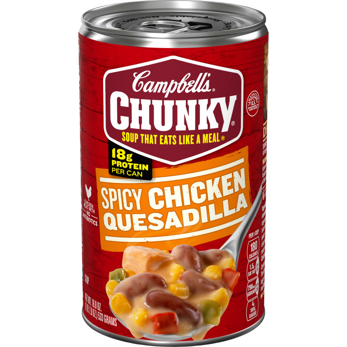 Spicy Chicken Quesadilla Soup