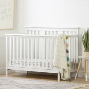 Cotton Candy - Lit de bébé avec barrière de transition