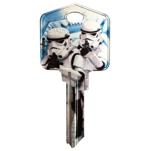 Star Wars Stormtrooper Key Blank Kwikset 66/97 KW1/10