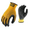 DEWALT DPG70 Textured Rubber Coated Gripper Glove