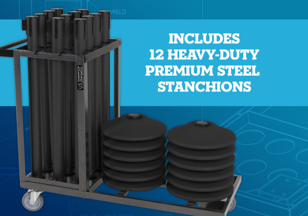 Statesman Cart Bundle - Black Steel 7