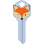WacKey Fox Key Blank