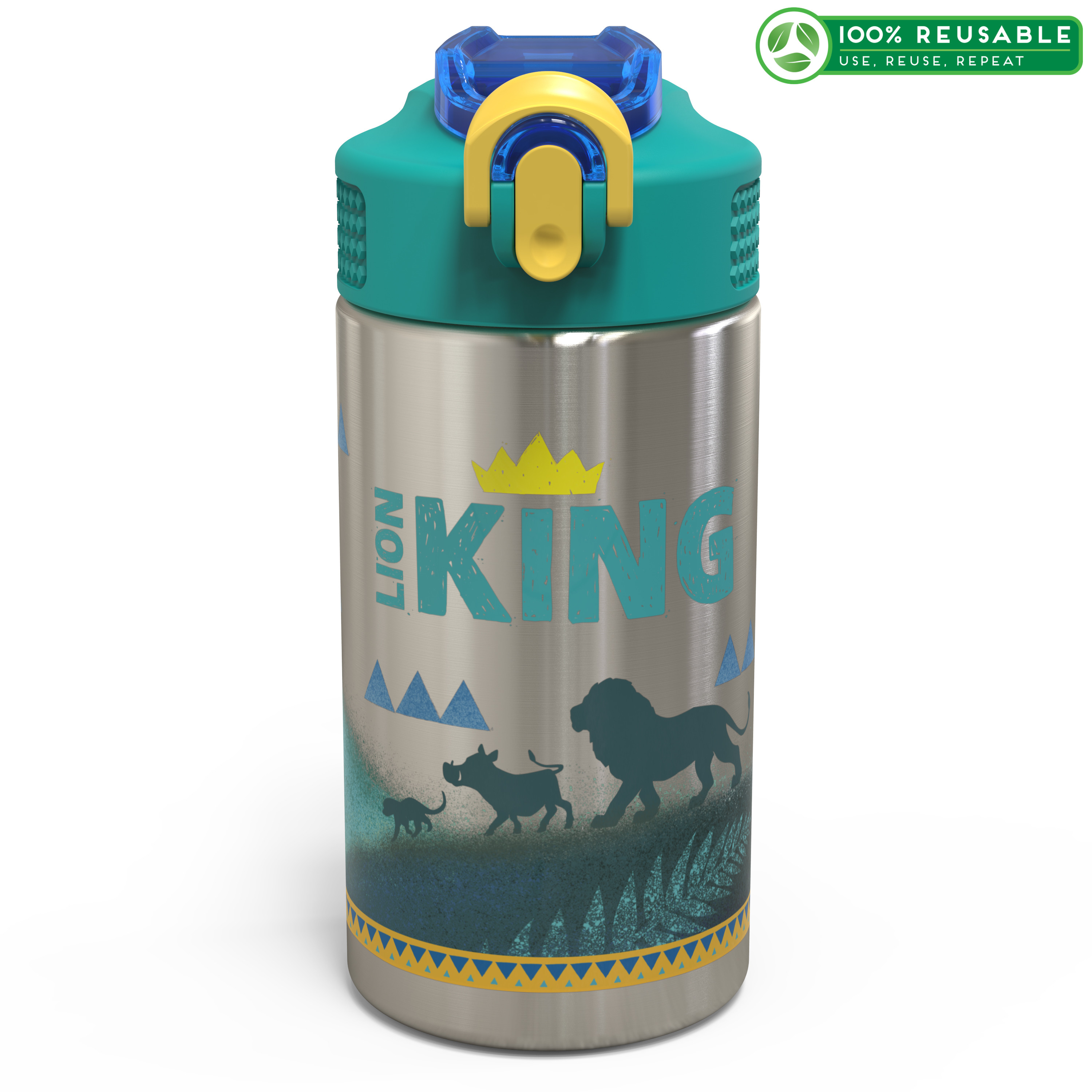 Lion King 15.5 ounce Water Bottle, Simba & Friends slideshow image 1