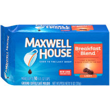 Maxwell House Breakfast Blend Ground Coffee 11 oz