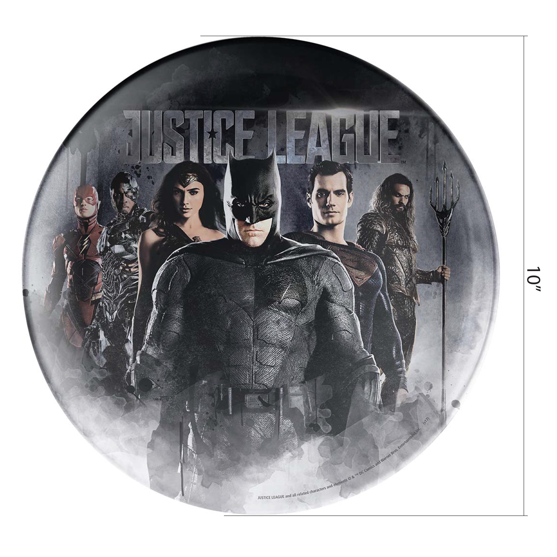 DC Comics Kids Plate, Justice League