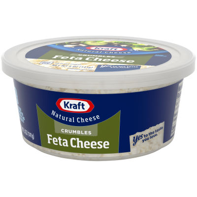 Kraft Natural Cheese Feta Cheese Crumbles 5 oz Tub