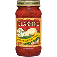Classico Florentine Spinach and Cheese Pasta Sauce 24 oz Jar