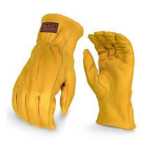BLACK+DECKER BD555 Leather Work Glove