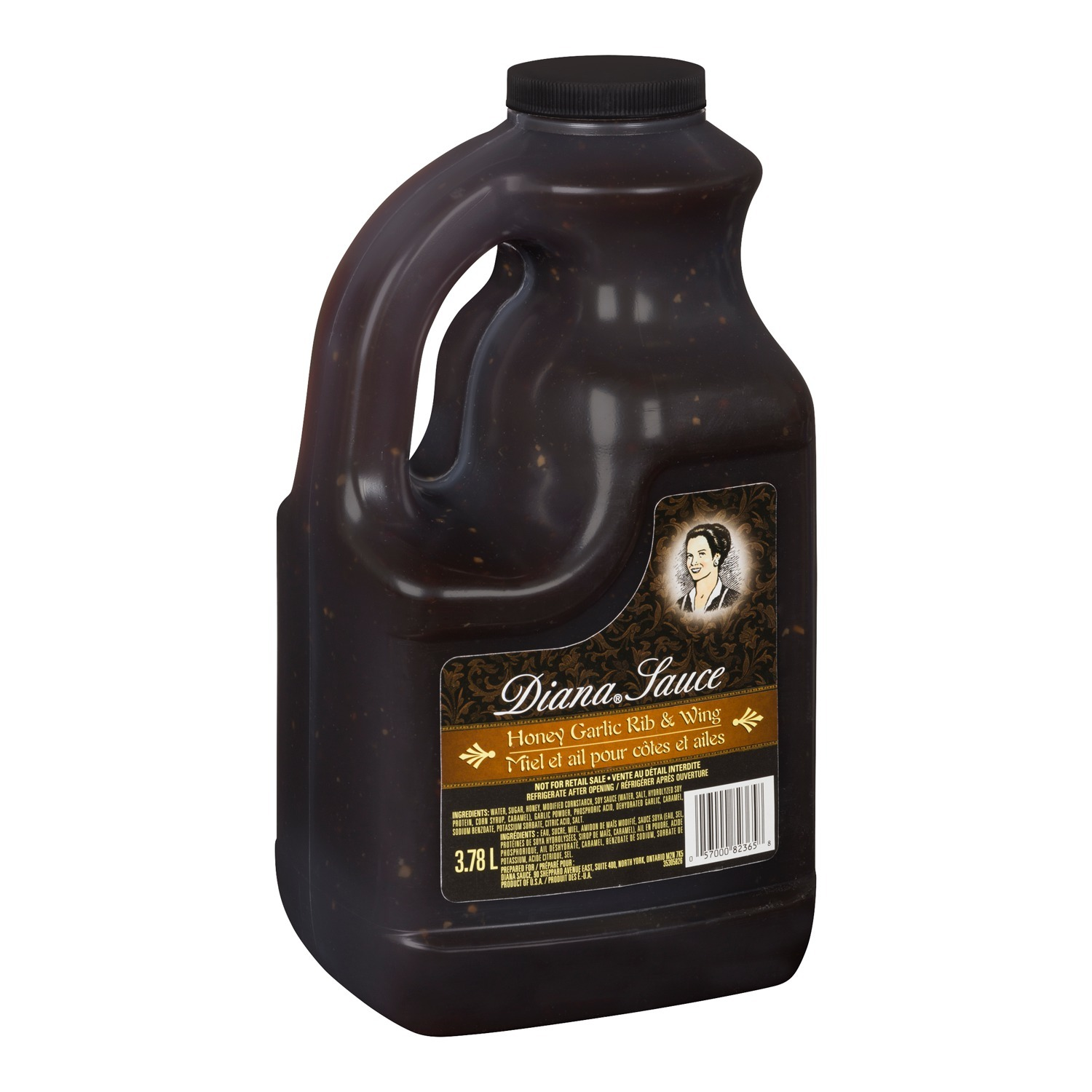 DIANA Sauce Honey Garlic Rib & Wing 3.78L 2