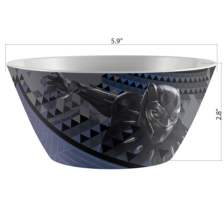 Marvel Comics Dinnerware Set, Black Panther, 2-piece set slideshow image 5