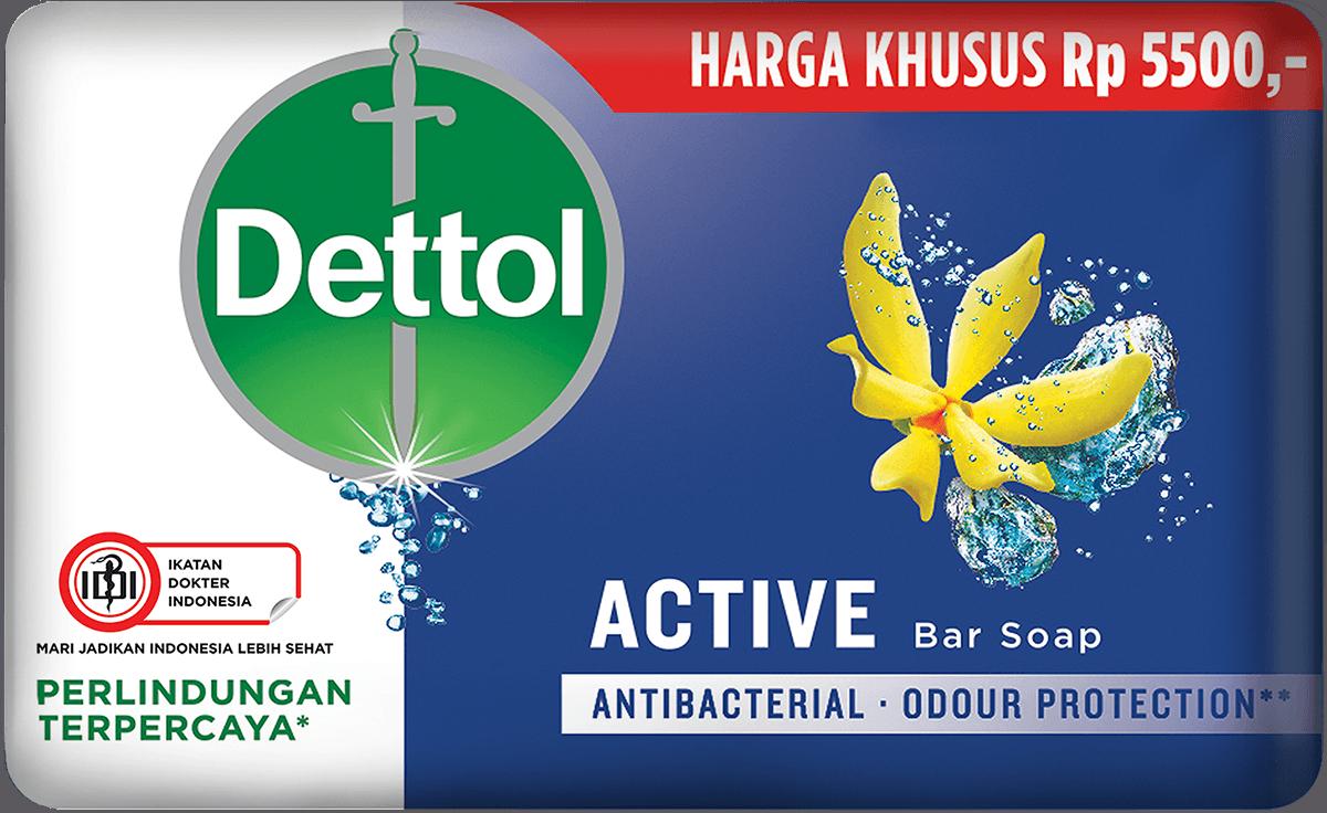 Sabun Anti Bakteri Dettol Active