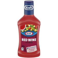 Kraft Red Wine Vinaigrette Dressing 16 fl oz Bottle