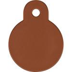 Bronze Small Circle Quick-Tag