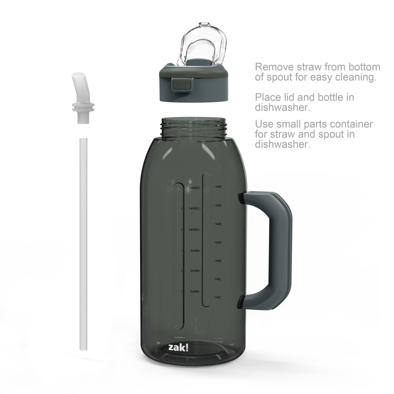 Genesis 64 ounce Water Bottles, Charcoal slideshow image 4