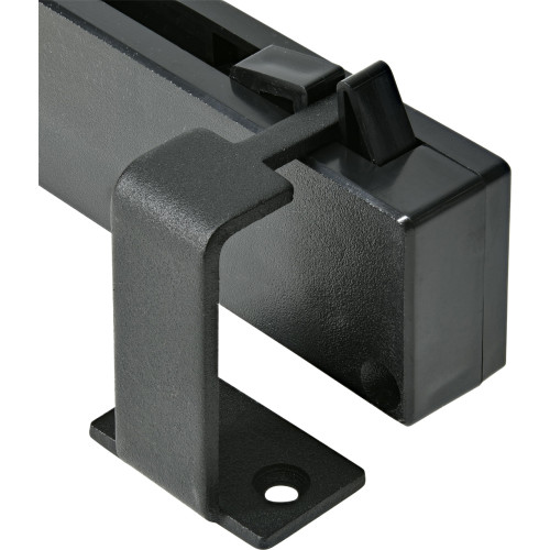 Hardware Essentials Black Barn Door Soft Close Adapter