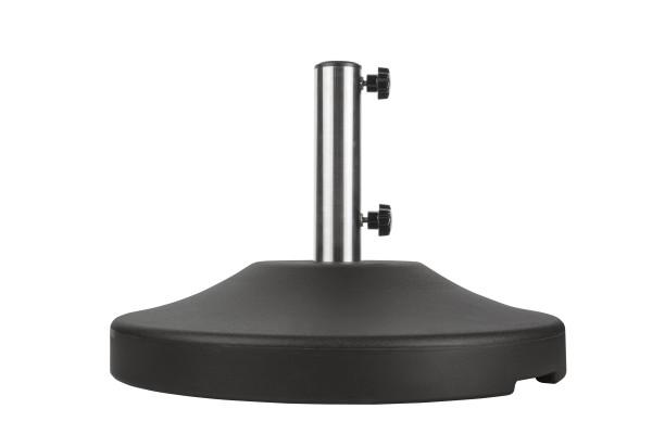 80 lb Free Standing Umbrella Base - Black 9