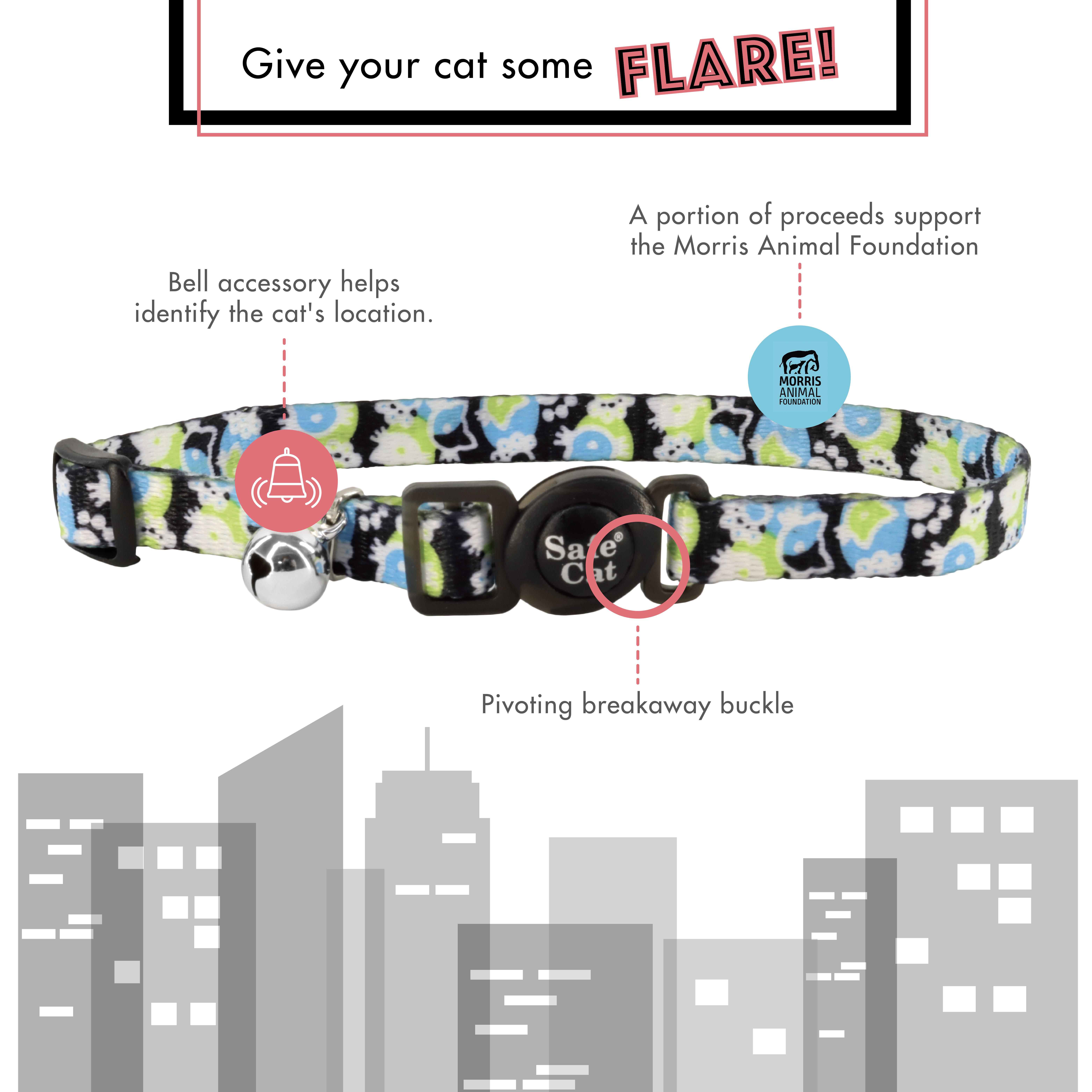 Safe Cat® Morris Animal Foundation Adjustable Breakaway Collar