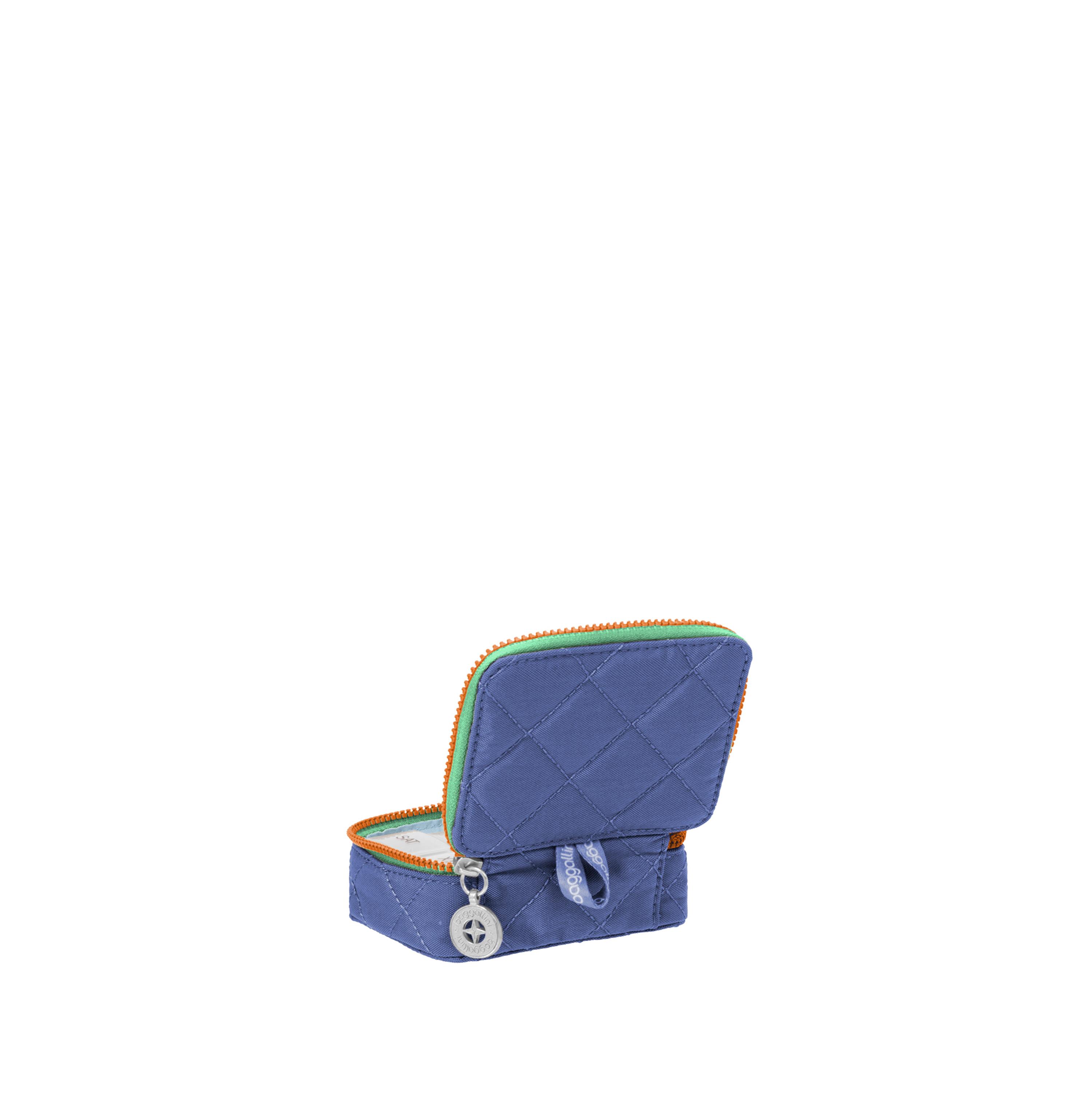baggallini-Women-039-s-TSA-Friendly-Travel-Pill-Case-Nylon-Multiple-Colors thumbnail 11