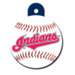 Cleveland Indians Large Circle Quick-Tag