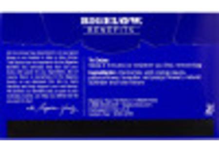 Back of Bigelow Benefits Chamomile and Lavender Herbal Tea box