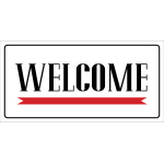 Welcome/Come Again Sign