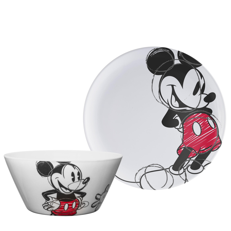 Disney Dinnerware Set, Mickey Mouse, 2-piece set slideshow image 1
