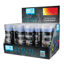 Radians Arctic Radwear® Cooling Towel Counter Display