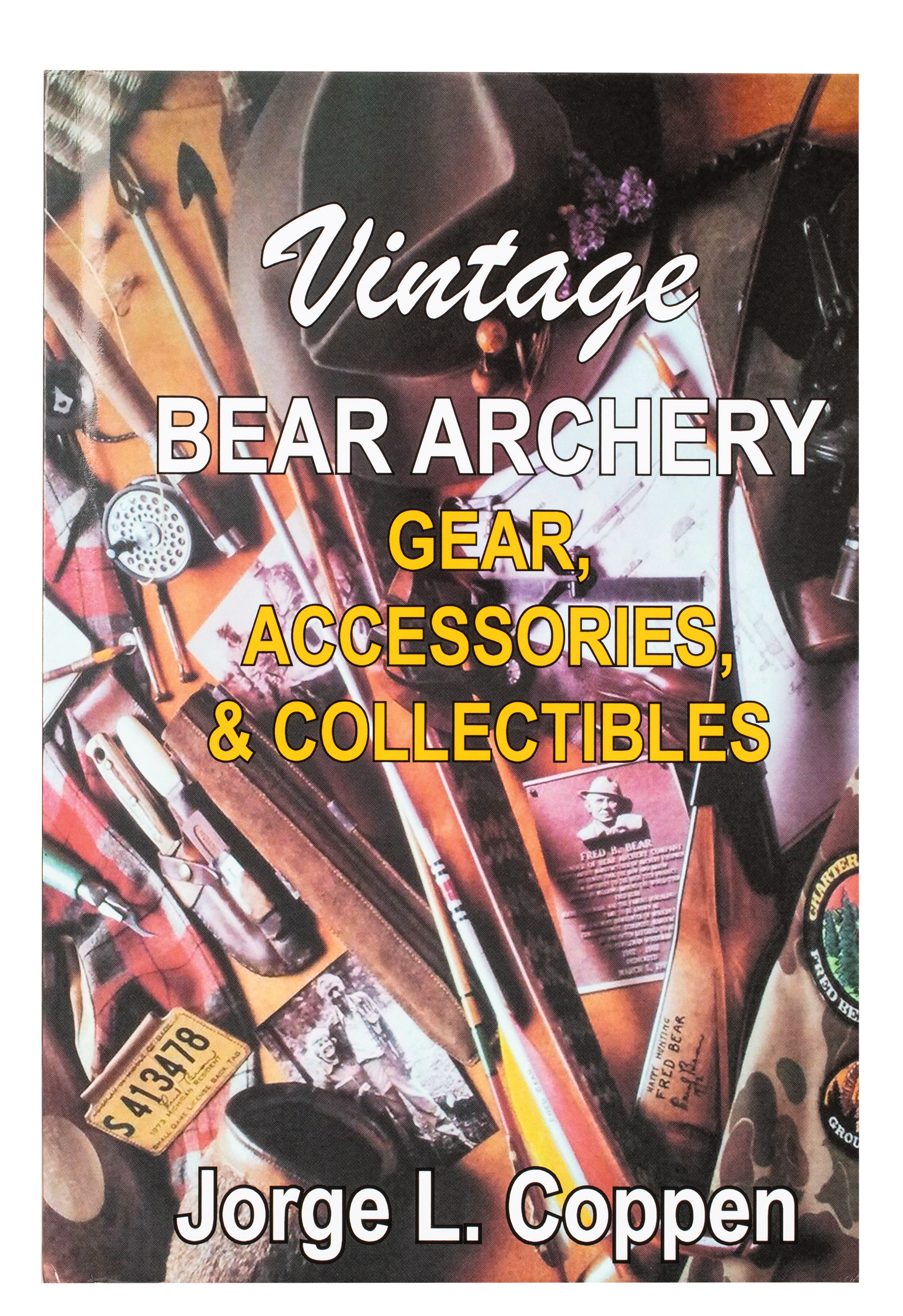 close up of Bear Archery Vintage Gear