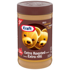 Kraft Extra Roasted Peanut Butter, 1kg