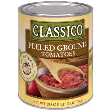 Classico All Natural Peeled Ground Tomatoes 28 oz Can