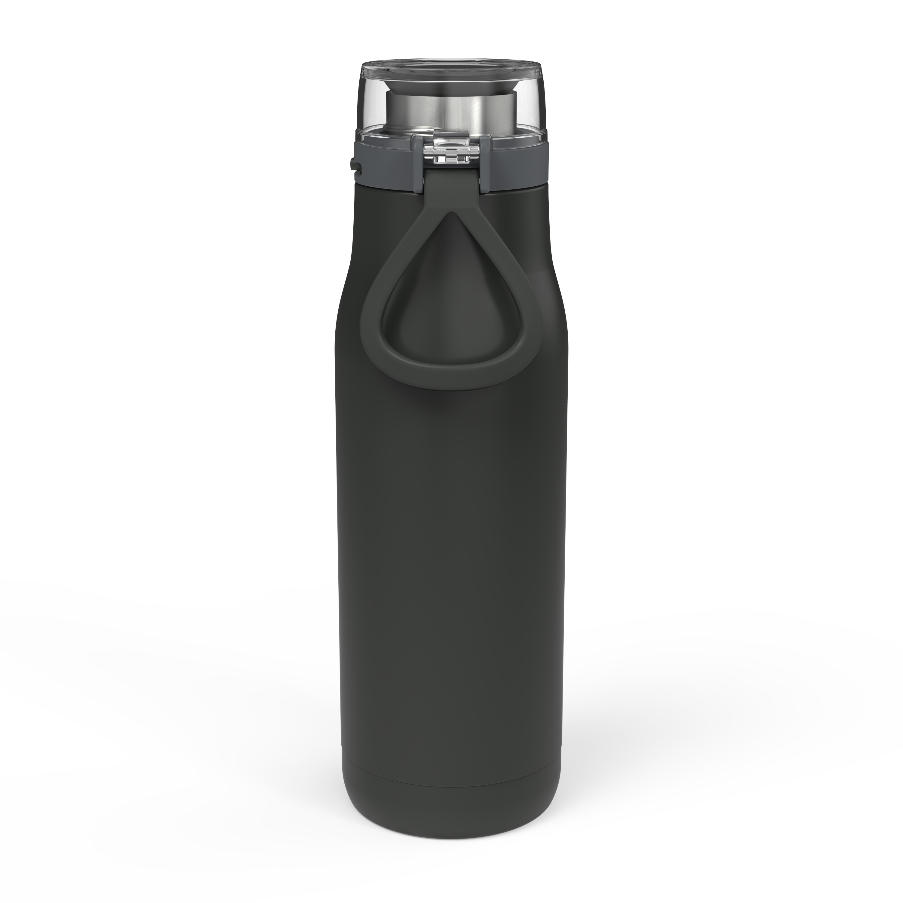 Kiona 20 ounce Vacuum Insulated Stainless Steel Tumbler, Charcoal slideshow image 3