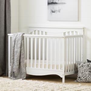 Savannah - Baby Crib 4 Heights with Toddler Rail