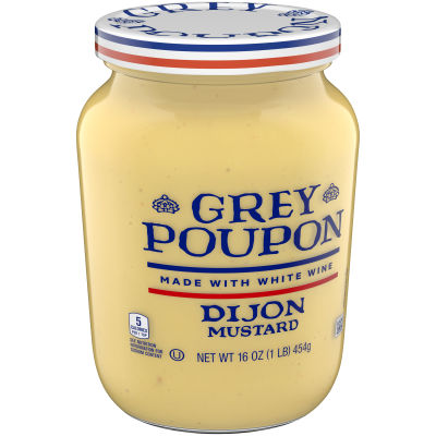Grey Poupon Dijon Mustard, 16 oz Jar
