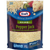 Kraft Pepper Jack Shredded Natural Cheese 8 oz Pouch