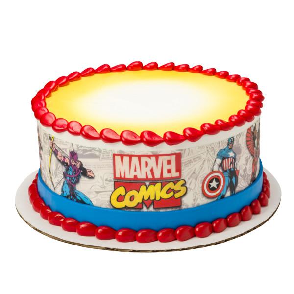 MARVEL Comics Pages PhotoCake® Edible Image® Strips