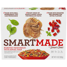 Smart Made Smart Ones Roasted Vegetables with Angel Hair 10 oz Box