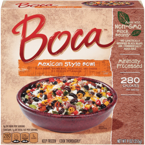 BOCA Mexican Style Black Bean Bowl