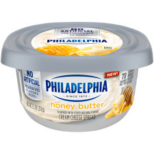 Philadelphia Honey Butter Cream Cheese Spread, 7.5 oz Tub