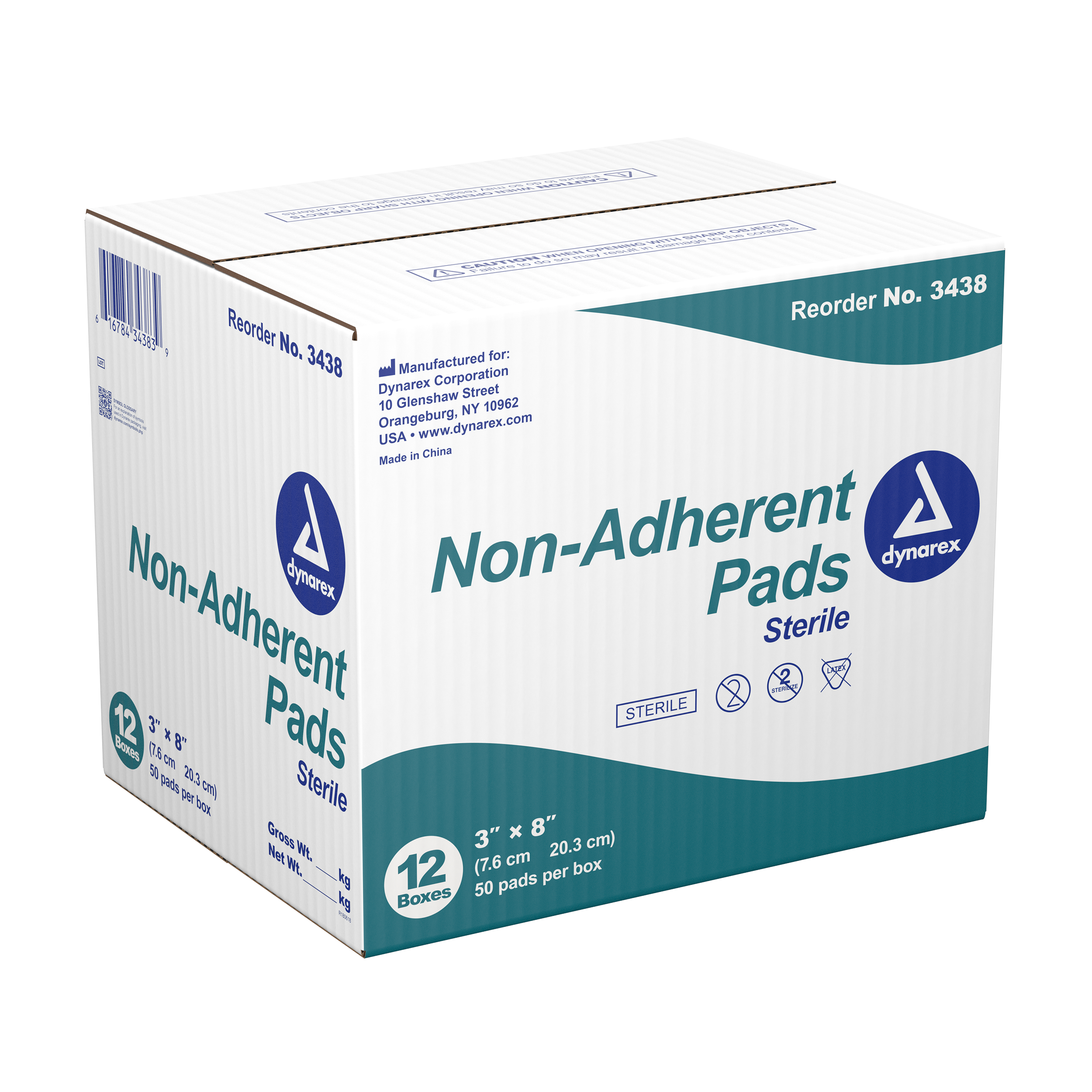 Non-adherent Pads Sterile - 3