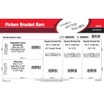 Fixture Bracket Bars Assortment