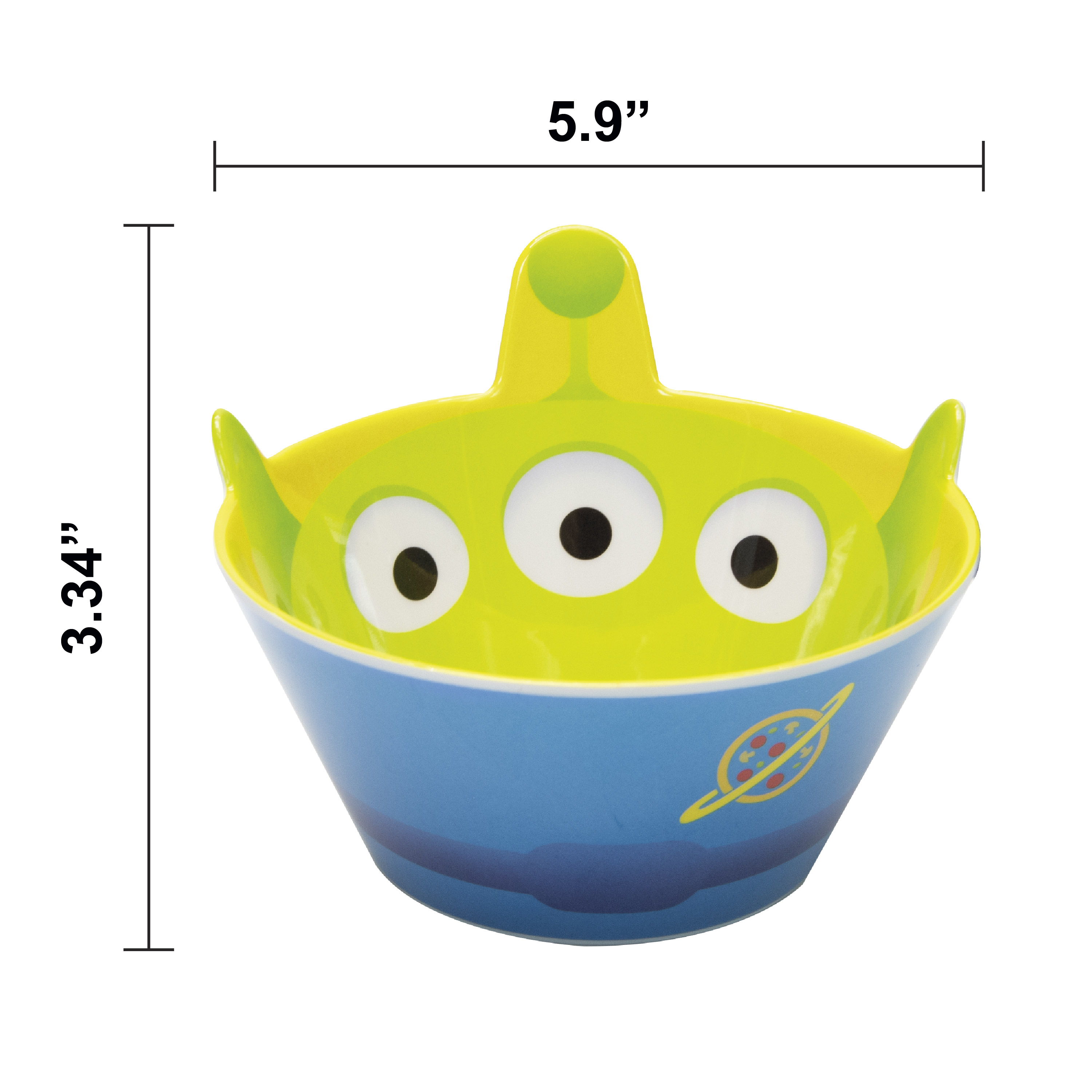 Disney and Pixar Plate and Bowl Set, Aliens, 2-piece set slideshow image 7