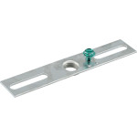 "Regular Bracket Bar (1/8"" Female IPS Thread for 4"" Outlet Box)"