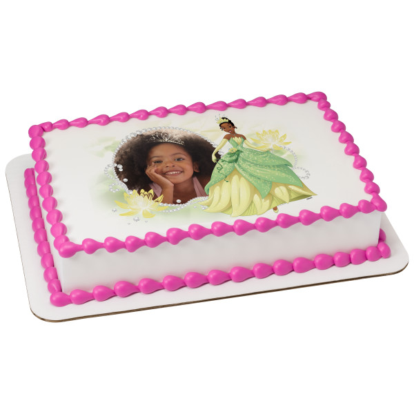 Princess & the Frog Tiana Tiaras & Jewels PhotoCake® Edible Image® Frame