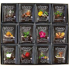 steep Organic Tea Assortment