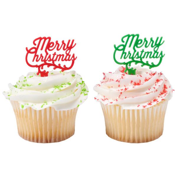 Merry Christmas Holly DecoPics®